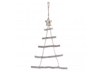 Závěsný vánoční strom -  34*1*50 cm