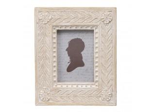 Krabička s rámečkem na fotografie ve víku - 12*15*5 cm / 6*8 cm