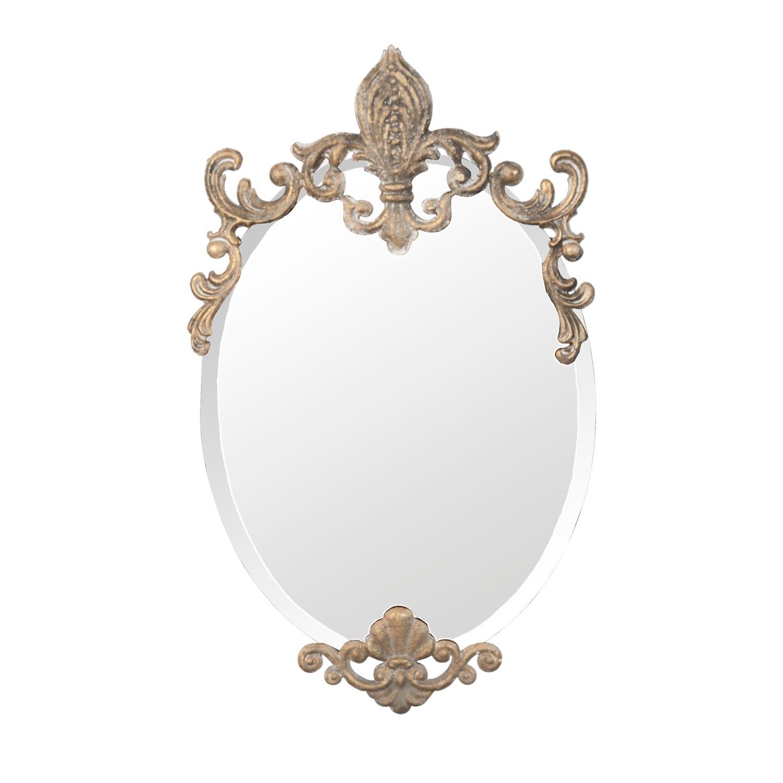 Zrcadlo ve zlatém rámu - 33*3*52 cm
