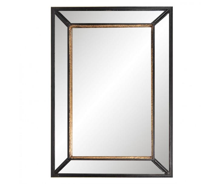 Obdélníkové zrcadlo v dvojitém rámu - 50*70 cm