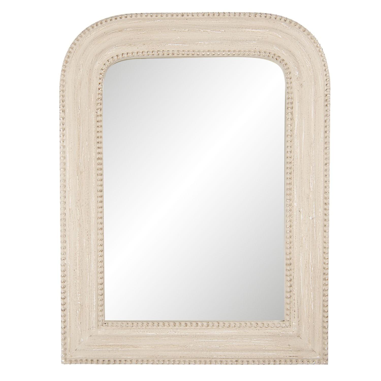 Nástěnné zrcadlo v dřevěném rámu - 50*65*3 cm