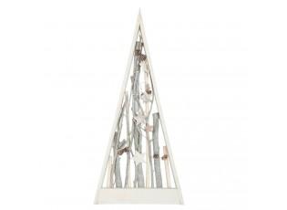 Dřevěný vánoční strom - 26*5*55 cm