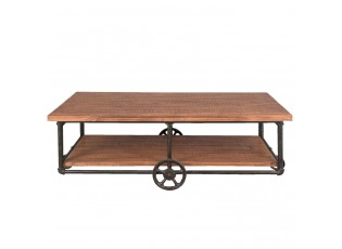 Konferenční stolek na kolečkách - 150*74*51 cm