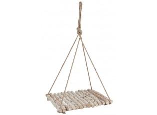 Závěsná polička/stolek Natural  - 60*60*110m