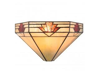 Nástěnná lampa Tiffany Yvonne - 31*15*17 cm / E14 / Max. 1x40 Watt
