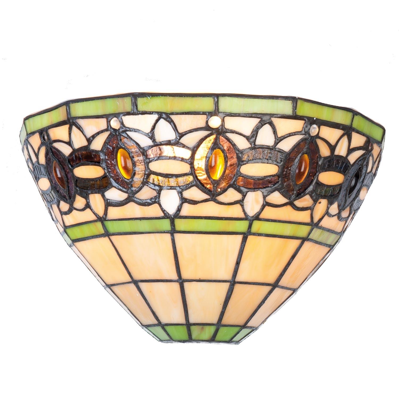 Nástěnná lampa Tiffany Honosé - 30*15*17 cm / E14/40w