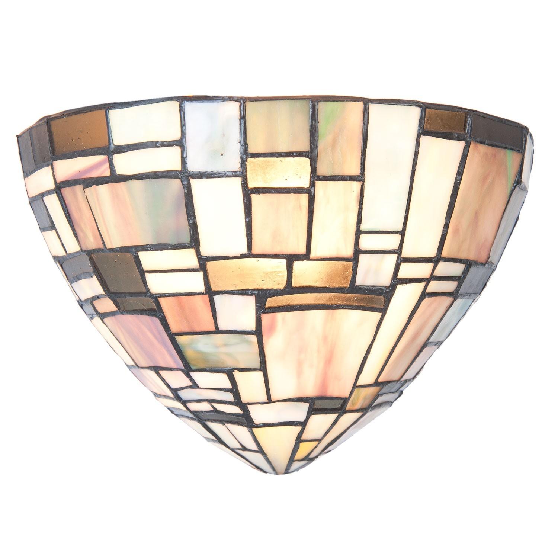 Nástěnná lampa Tiffany Frontiere - 30*16*18 cm / E14/40W