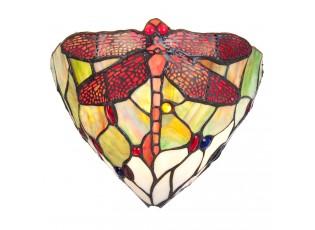 Nástěnná lampa Tiffany Dragonfly square - 29*16*18 cm / E14/40W