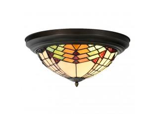 Stropní svítidlo Tiffany Montaq - Ø 40*18 cm