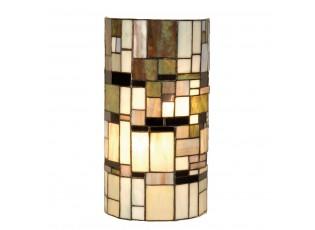 Nástěnná lampa Tiffany Blocked - 20*11*36 cm 2x E14 / Max 40W