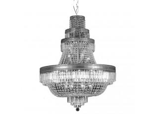 Křišťálový lustr Nestor - Ø 80*105/220 cm E14/max 24*40W