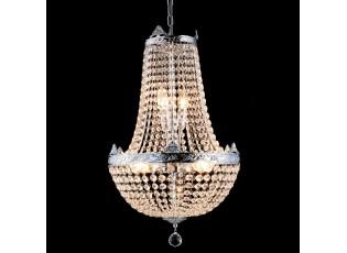 Křišťálový lustr Basile - Ø 40*70/184 cm E14/max 6*40W