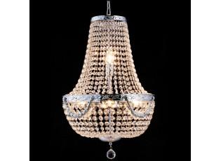 Křišťálový lustr Basile - 64-184 * Ø40 cm 6x E14/40w