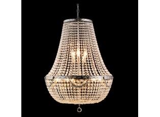 Křišťálově kovový lustr Godfrey