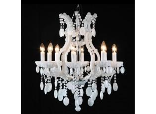 Křišťálový lustr Prisca - 75 * Ø 65 cm 8x E14/40w