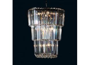 Křišťálový lustr Prisca - Ø 55*75 cm E14/max 15*40W