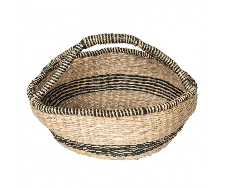 Košík z mořské trávy -  Ø 60*26 cm