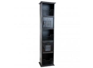 Kovová skříň s přihrádkami - 35*30*150 cm
