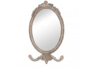 Malé nástěnné zrcadlo ve vintage rámu - 12*3*21 cm