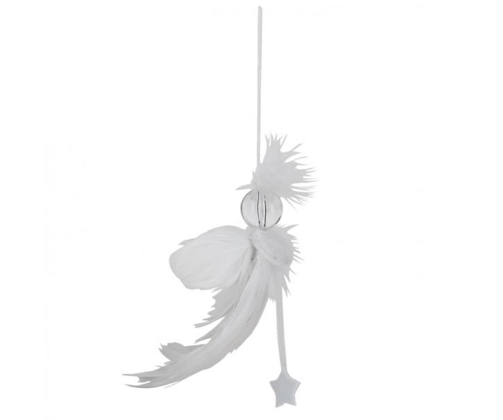 Vánoční peříčková ozdoba - 12*2*20 cm