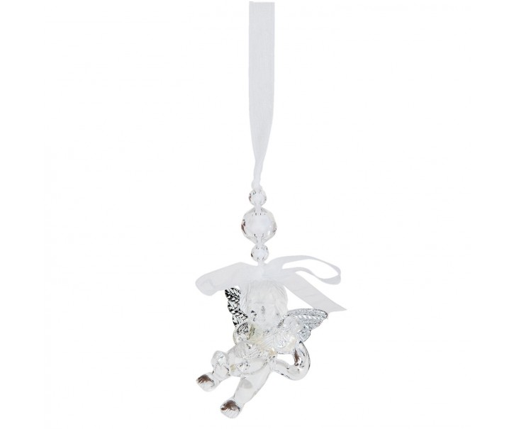 Závěsný vánoční andílek - 5*3*6 cm