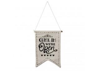 Závěsná cedulka Open / Closed - 26*1*32 cm