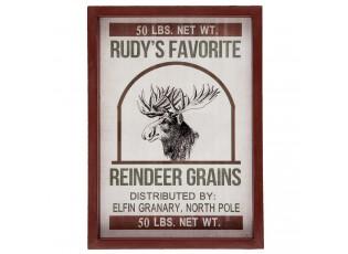 Obraz Sob Reindeer grains - 27*3*37 cm