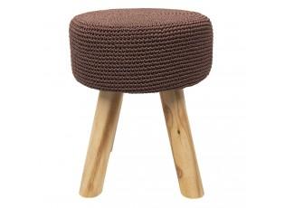 Burgundy stolička - Ø 31*36 cm