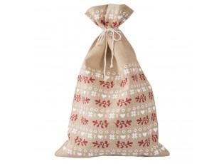 Jutová vánoční taška / pytel- 50 * 80 cm