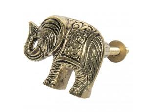 Hliníková úchytka Slon - 5*4 cm