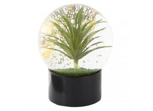 Sněžítko s květinou - Ø 12*15 cm
