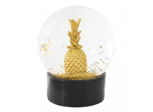Sněžítko zlatý ananas - Ø 10*13 cm