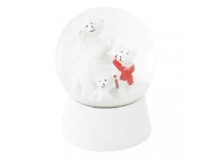 Malé sněžítko s medvídky - Ø 7*8 cm