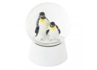 Sněžítko s tučňáky - Ø 5*6 cm
