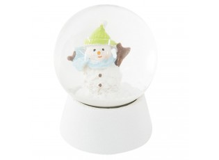 Malé sněžítko se sněhulákem - Ø 5*6 cm
