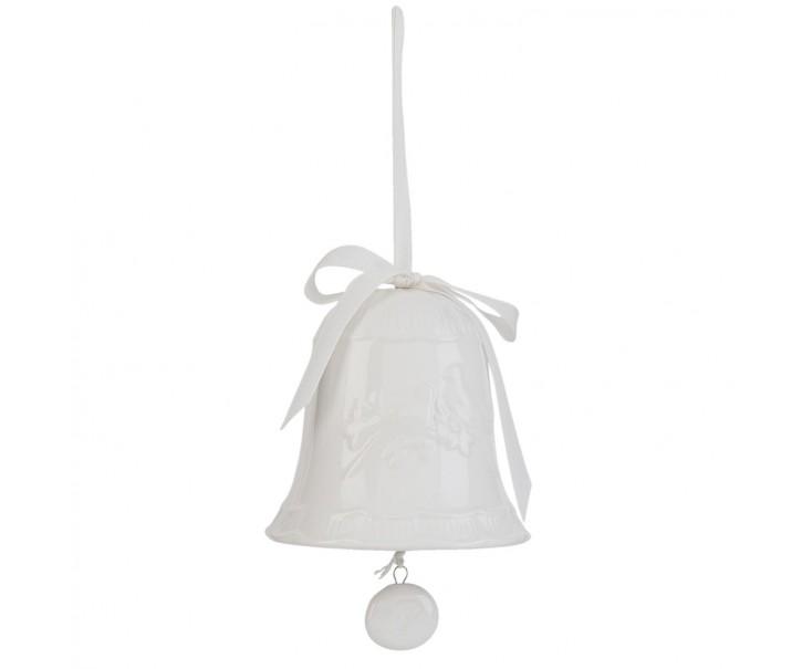 Závěsný keramický zvoneček -  Ø 10*11 cm