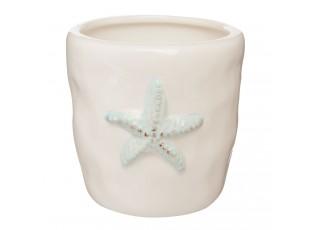 Držák na zubní kartáček hvězdice - Ø 8*8 cm