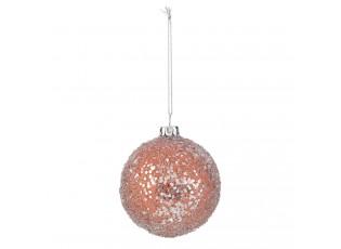 Bronzová vánoční koule - Ø 7 cm