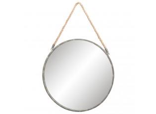 Kulaté zrcadlo v rámu na zavěšení - Ø 56*3 cm