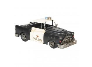 Retro kovový model policejní auto - 33*13*13 cm