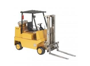 Retro kovový model vysokozdvižný vozík -  41*14*25 cm