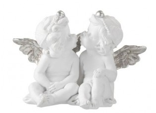Kissing angels  - 21*14*14 cm