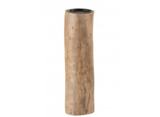 Dřevěný svícen - Ø 9,5*36cm