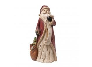 Dekorace Santa se seznamem - 15*12*30 cm