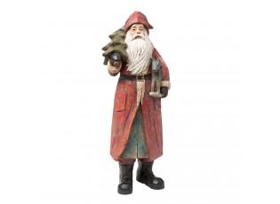 Dekorace Santa se seznamem - 11*9*31 cm