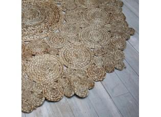 Přírodní jutový koberec Bulova - Ø125 cm