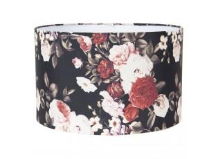 Květované stínidlo na lampu - Ø 35*22 cm