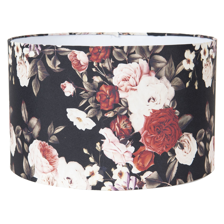 Květované stínidlo na lampu Flower - Ø 35*22 cm