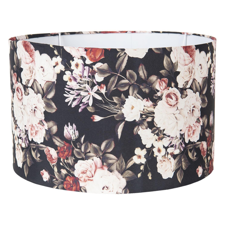Květované stínidlo na lampu Flower - Ø 45*28 cm