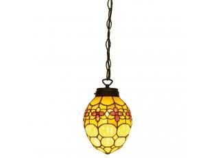 Závěsné světlo Tiffany Calista - Ø 24*155 cm 1x E14 / Max 40W